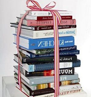 Cook Books as presents. SMH GOOD LIVING photo by Marco Del Grande SPEC